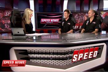 Team Honda Racing teammates on SPEED News Australia