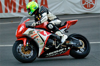 Donald sets new PB lap on his way to second in IoM Superbike TT