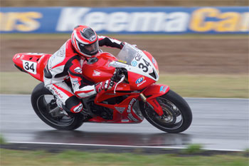 Hook tops ASBK Supersport sessions on Friday in Queensland