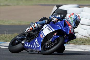 Parkes and Halliday at Yamaha Racing with Yamalube team