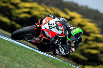 Laverty fastest on opening morning at Phillip Island WSBK tests