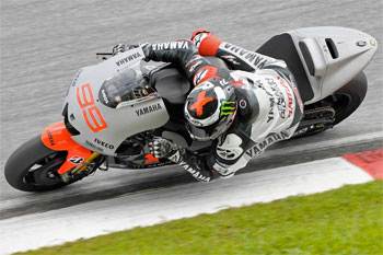 Lorenzo concludes Sepang test on top, Staring 28th overall