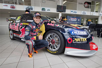 Stoner launches Red Bull Racing Australia V8 Supercars campaign