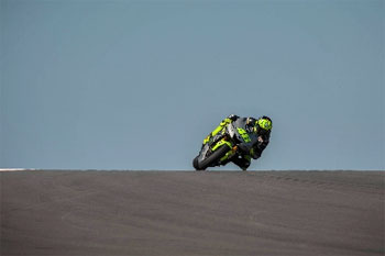 Yamaha's Lorenzo and Rossi reflect on initial COTA test