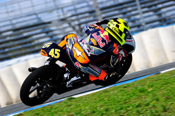 Simpson continues Red Bull MotoGP Rookies testing
