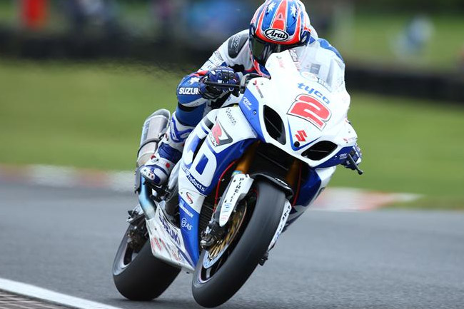 Josh Brookes is back in the BSB ranks after a super-impressive showing at the Isle of Man TT. Image: Suzuki-Racing.com.