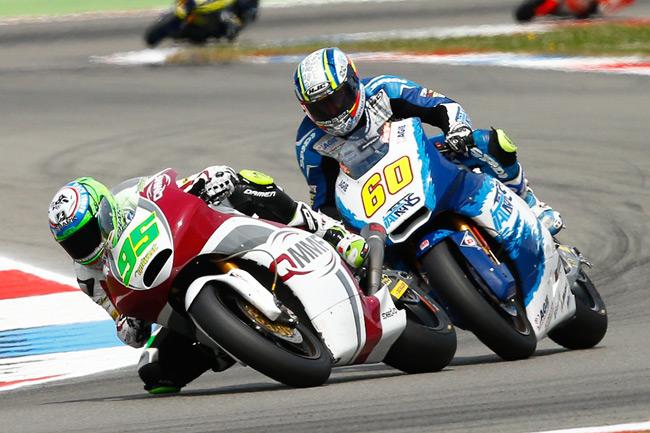 Anthony West ran competitively within the top 10 in the Netherlands. Image: MotoGP.com.