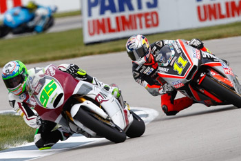 Lack of focus renders West pointless in Brickyard Moto2 battle