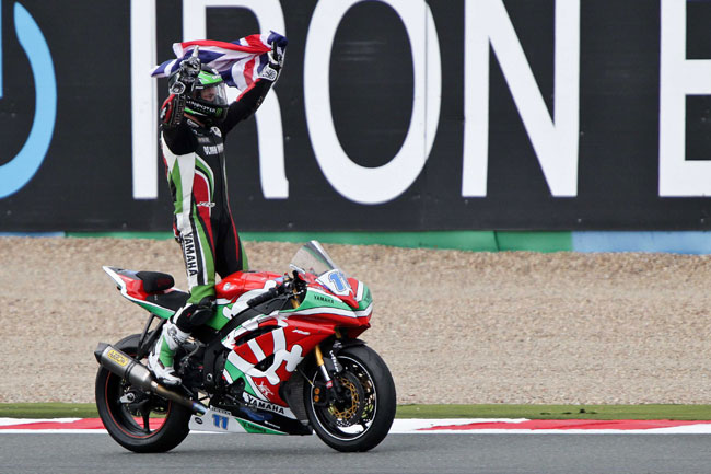 Sam Lowes is the 2013 World Supersport Champion.