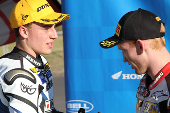 Falzon wary of Morris threat in race to Australian Supersport title