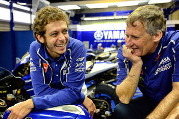 Rossi to part ways with Australian crew chief Jeremy Burgess