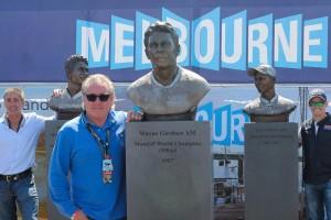 Aussie grand prix heroes imortalised at Phillip Island