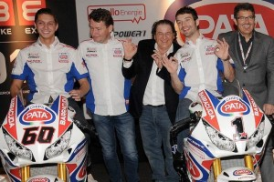 Behind the Scenes: 2015 Pata Honda team launch
