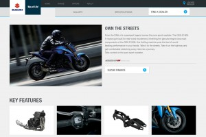 Suzuki Motorcycles Australia launches new website