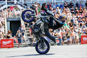 Yamaha stunt rider Mckenna aligns with YMI