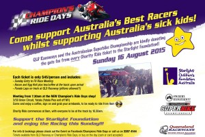 Champion's Ride Days hosting FX-ASC charity ride