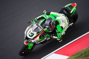 West to continue with Pedercini Kawasaki at Donington
