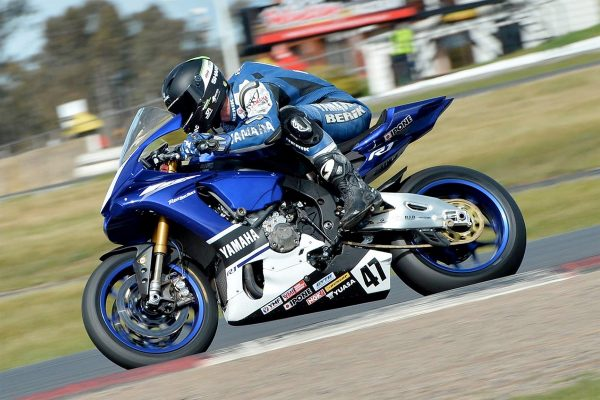 Yamaha concludes two-day ASBK test at Winton