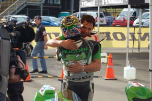 Kawasaki supported Robbie Bugden wins round four of 2016 Australasian Superbike Championship