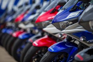 Motorcycle sales increase further during third quarter of 2016