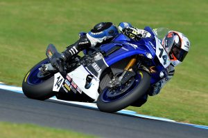 Positive Dunlop test at Phillip Island for Yamaha Racing Team