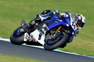 Positive Dunlop test at Phillip Island for Yamaha Racing Team
