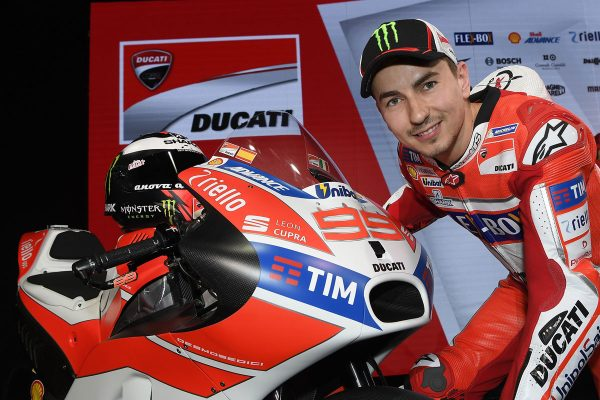 Lorenzo makes maiden Ducati appearance at team launch