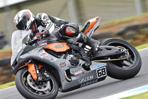 Leading ASBK rookie so far a strong start for Levy