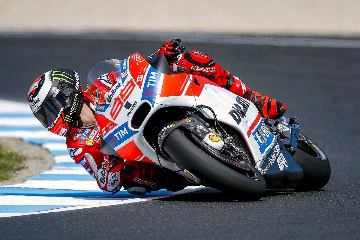 Lorenzo plays down importance of Ducati lap-times - CycleOnline.com.au