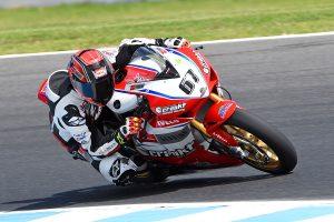Race podium upon ASBK return justifies switch for Staring