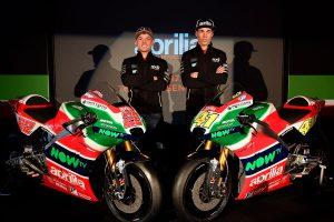 Aprilia Racing Team Gresini launches MotoGP team