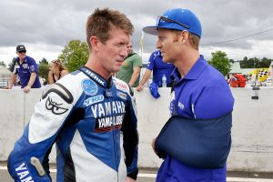 Hidden Valley ASBK round the target for injured Allerton