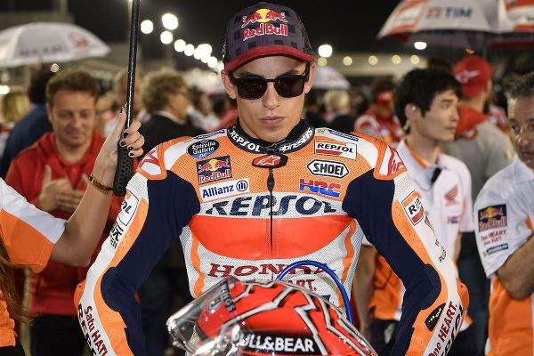 Medium compound front tyre switch a mistake for Marquez