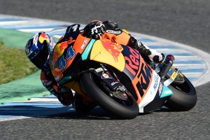 Red Bull KTM Ajo's Oliveira fastest as Jerez test opens