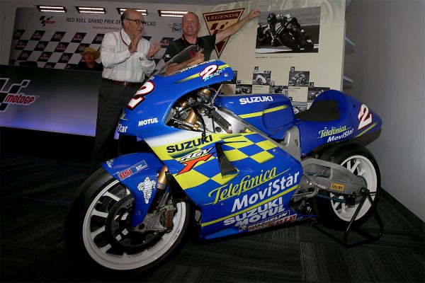 Kenny Roberts Jr. the latest MotoGP Legend