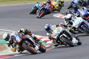 Croker takes his first ASBK win on the RC 390