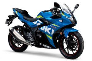 Bike: 2017 Suzuki GSX-250R