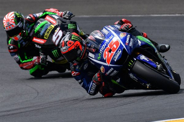 Viñales back on top in dramatic French grand prix