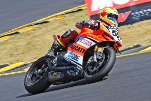 Positive qualifying progress for DesmoSport Ducati at Sydney Motorsport Park