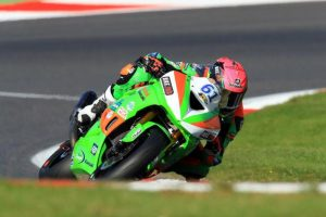 Currie secures third overall in British Supersport series