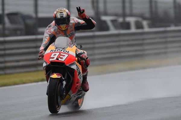 Marquez satisfied despite last lap mistake at Motegi