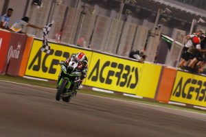 Rea completes WorldSBK season with race two victory in Qatar
