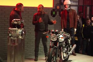 EICMA unveil for Royal Enfield 650 twin-cylinder models