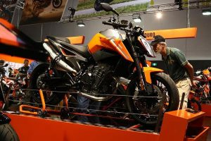 KTM Australia unveils 790 Duke and EXC TPI models at Sydney Motorcycle Show