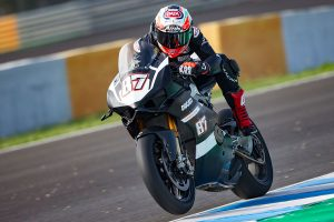 Ducati testing race-specification Panigale V4 at Jerez
