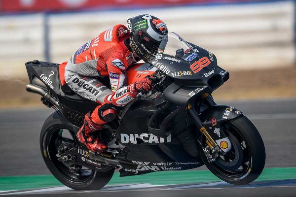 Greater potential with GP18 in Thailand for Lorenzo