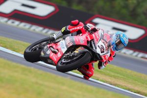 Melandri fastest in WorldSBK FP1 at Phillip Island