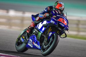 Vinales bounces back on opening day of Qatar MotoGP test