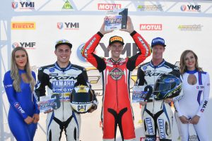 Podium sweep for Pirelli racers in ASBK at The Bend