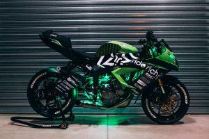 Kawasaki-supported stunt rider turbo charges Ninja ZX-6R